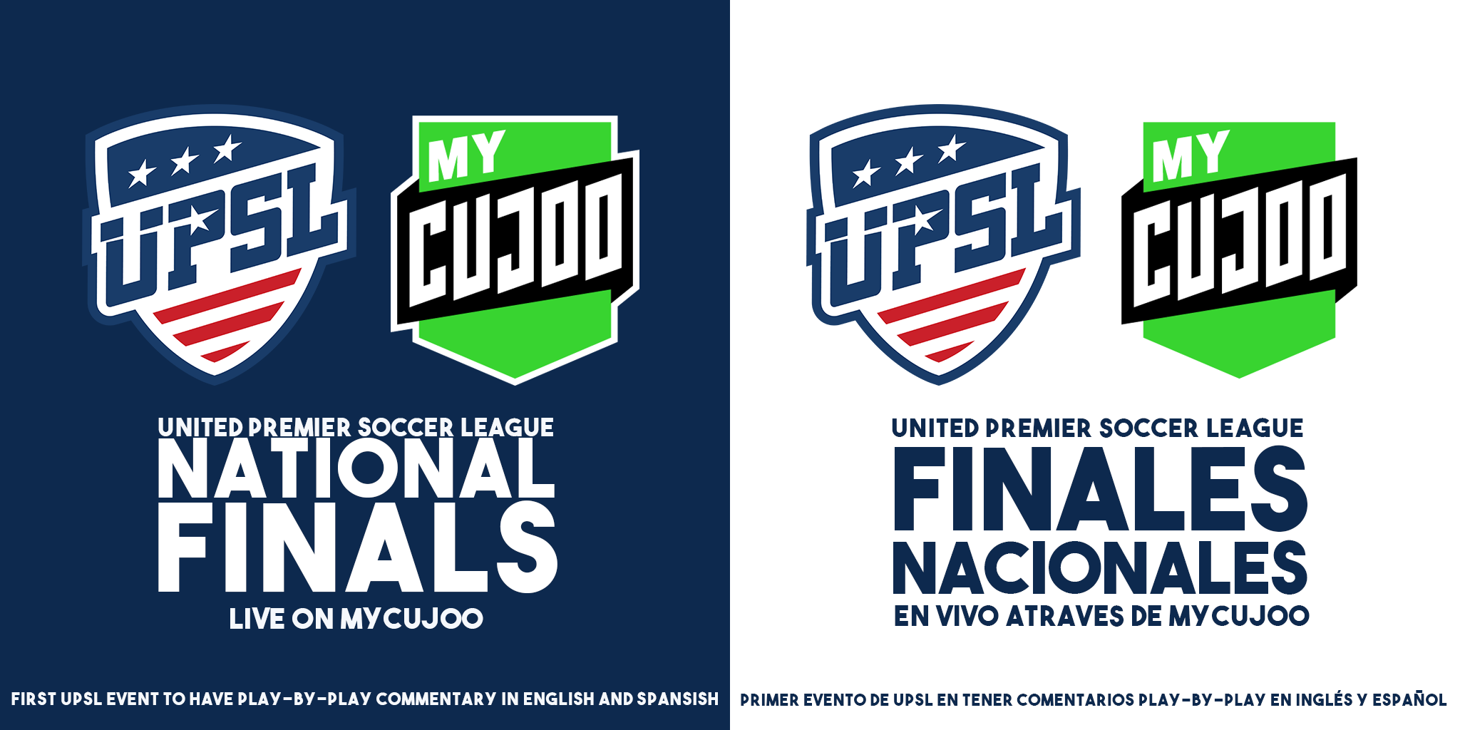 UPSL Announces First Spanish-language Broadcast for National Finals on MyCujoo.tv