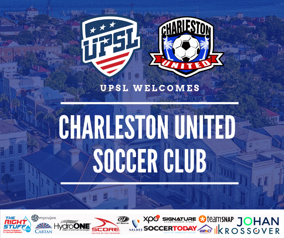 UPSL Announces South Carolinas Charleston United SC as