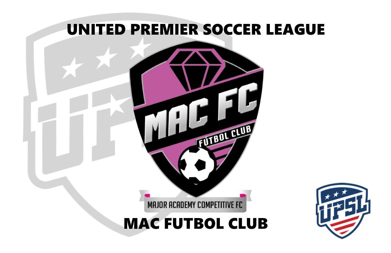 United Premier Soccer League Announces Mac Futbol Club As