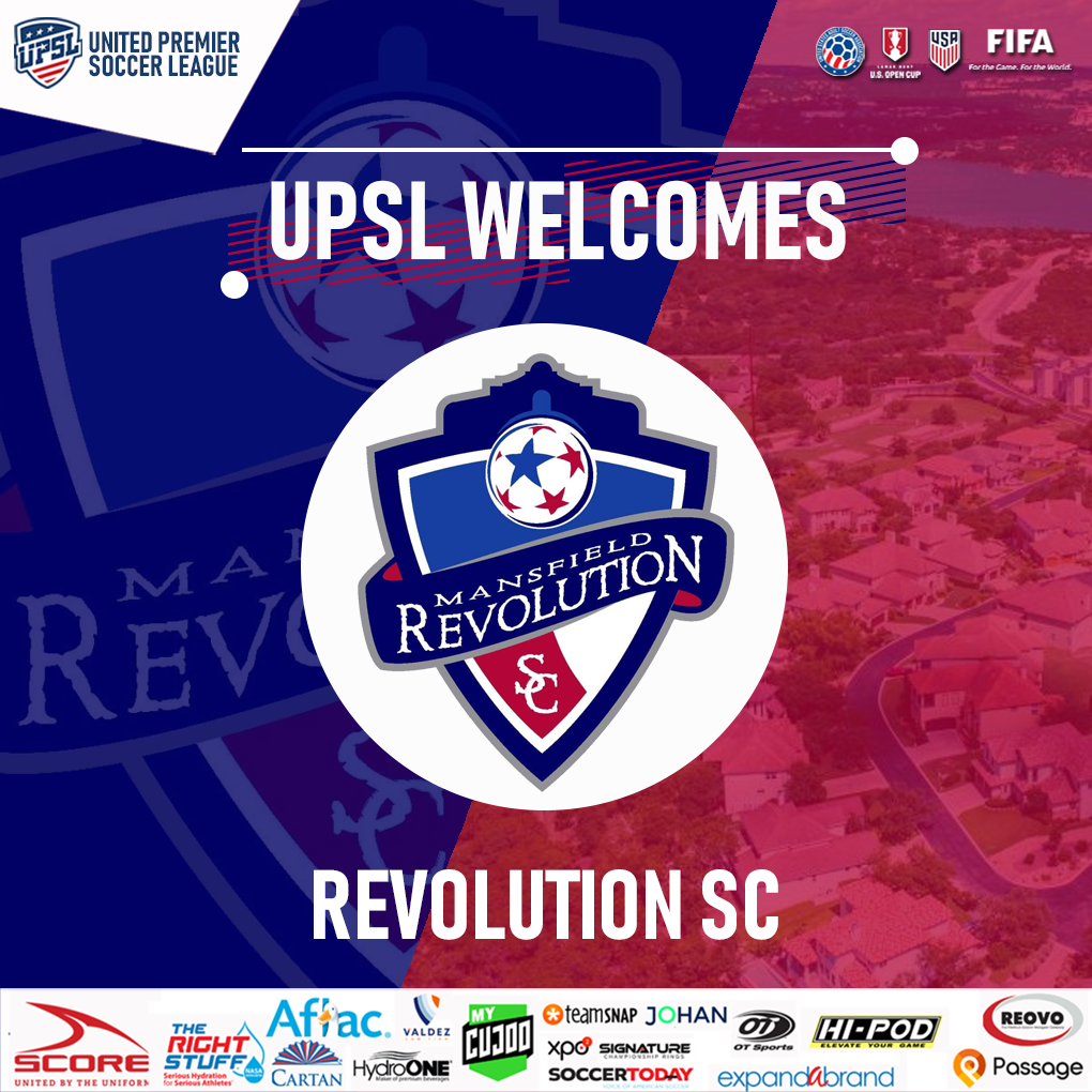UPSL Announces Texas Expansion with Revolution SC | Old